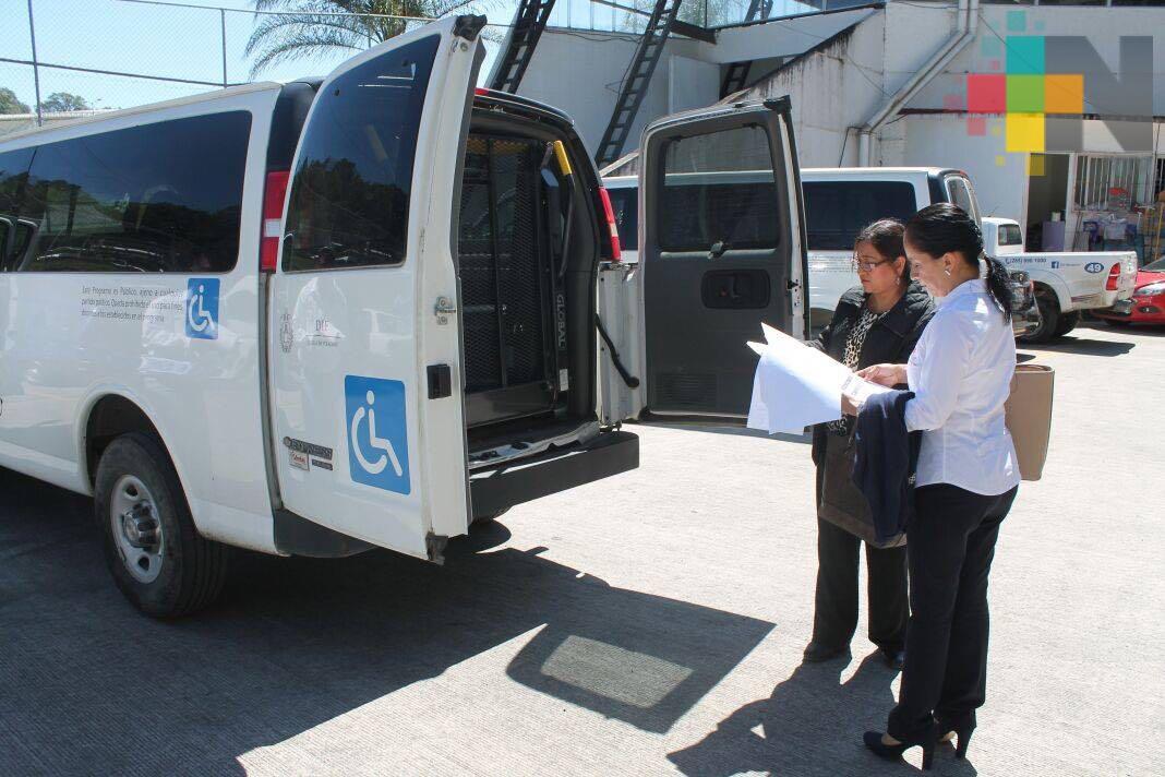 DIF de Tierra Blanca recibe unidad móvil adaptada para personas con discapacidades