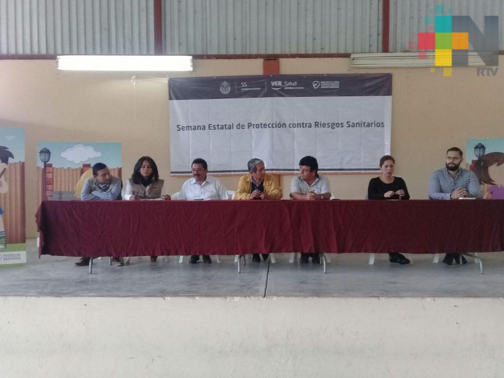 Integran campaña de prevención sanitaria con instituciones de Tantoyuca