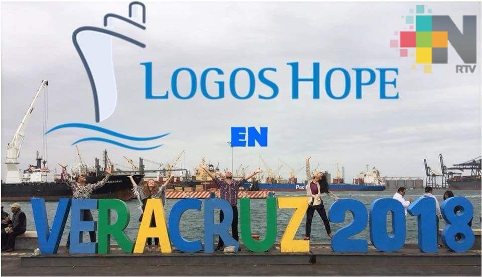 """Todo listo para que biblioteca """"Logos Hope"""" arribe al puerto de Veracruz"""