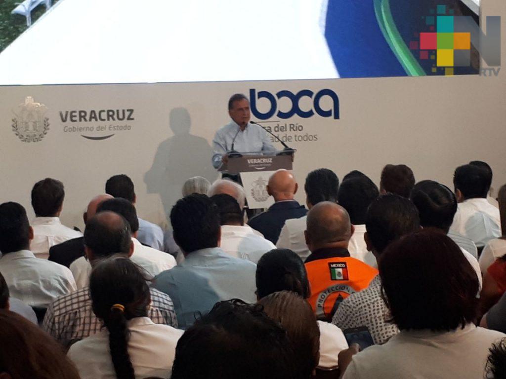 Rehabilitarán avenida Urano de Boca del Río