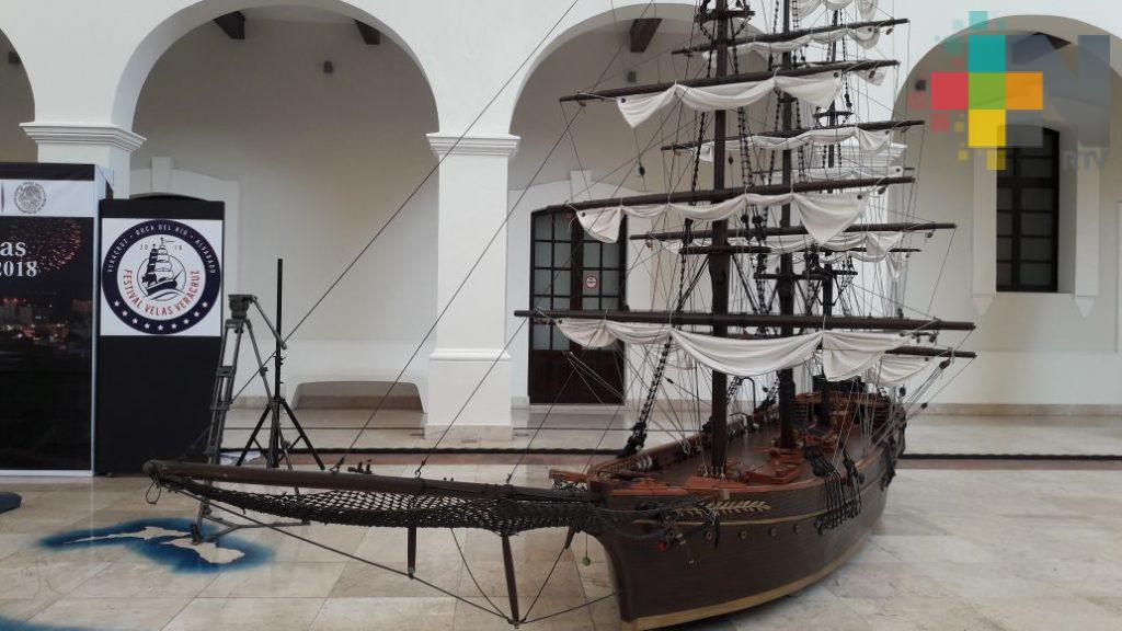 Nueve navíos confirman su participación en el Festival Velas Veracruz 2018