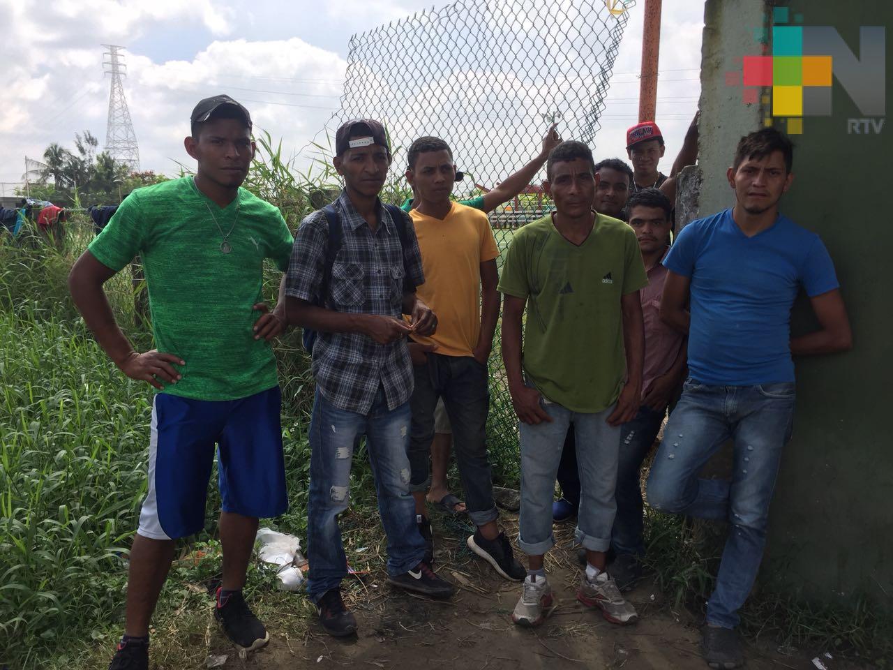 Ningún migrante ha reportado alguna violación de sus derechos humanos en Coatzacoalcos