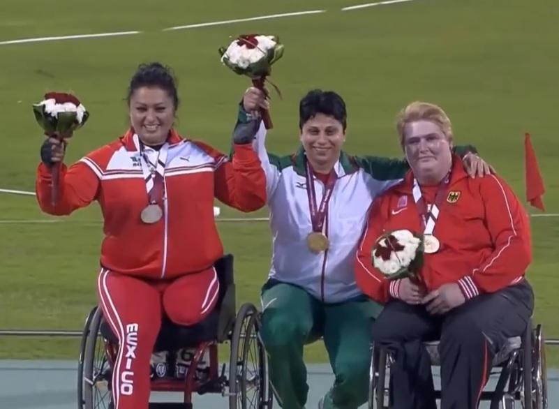 Y lo volvió a hacer, logra Ángeles Ortiz su quinceavo récord mundial