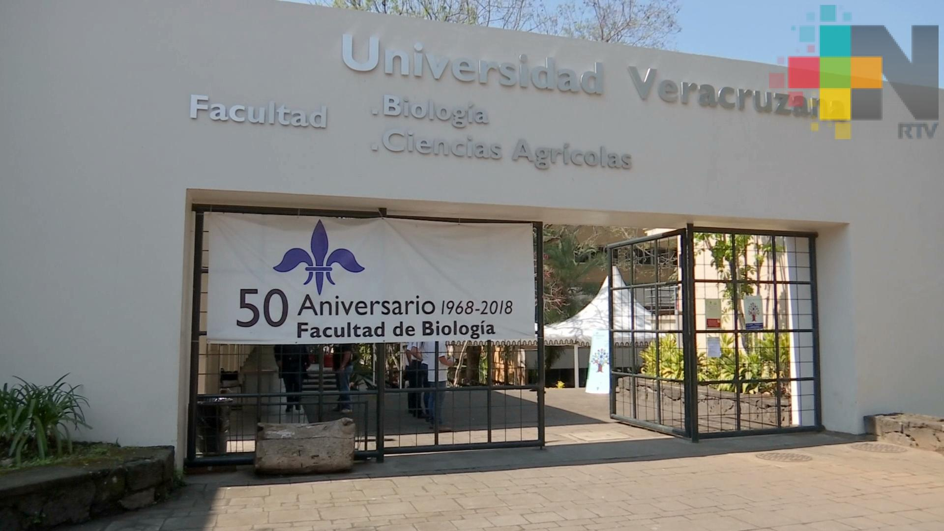 Gran celebración por el 50 aniversario de la Facultad de Biología de la UV