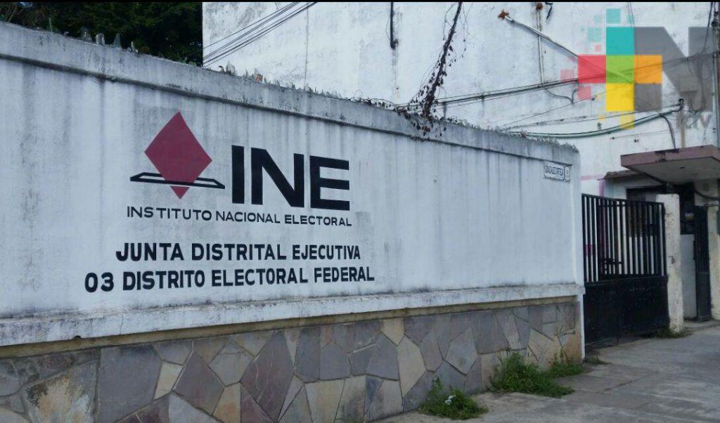 En Tuxpan, INE lleva 90% de funcionarios de casilla capacitados