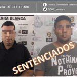 54 años de prisión obtiene FGE contra secuestradores, en Cosamaloapan