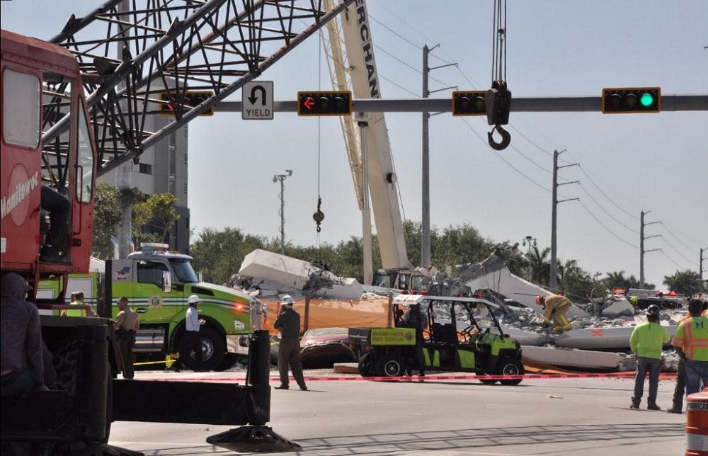 Varias personas muertas y ocho heridos por puente colapsado en Miami