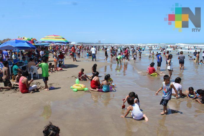 Destacan incremento en porcentaje de turistas que visitan Veracruz en estas vacaciones