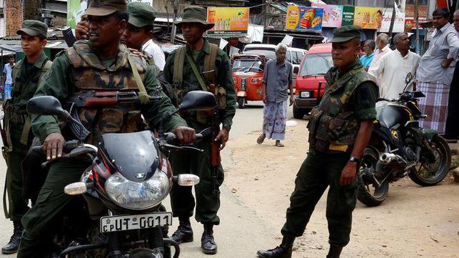 Policía de Sri Lanka halla 87 detonadores en estación de autobús