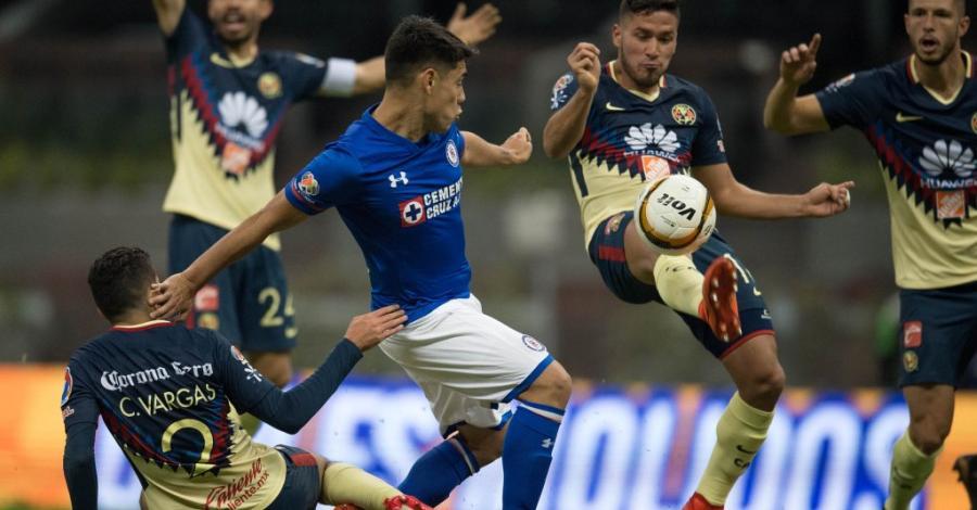 América-Cruz Azul sobresale en la fecha 13 de la Liga MX