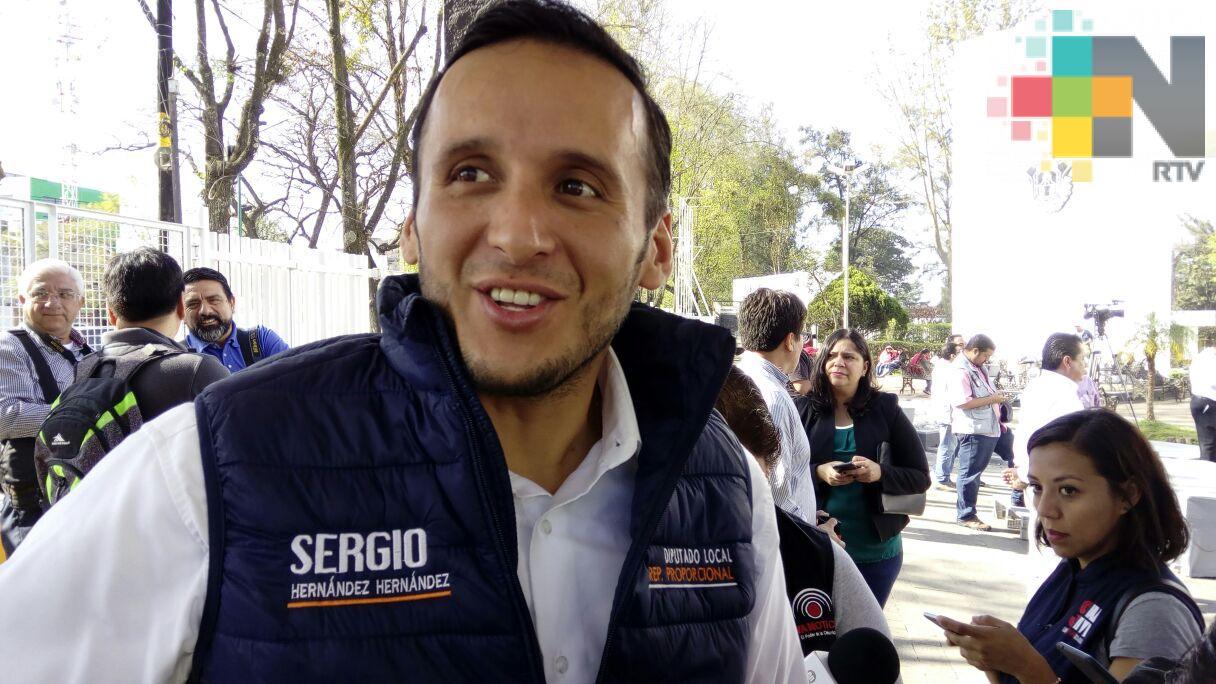 Congreso actuaría en consecuencia si existiera juicio de procedencia contra diputado Sergio Hernández