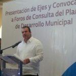 Invitan a foros de consulta para fortalecer el Plan de Desarrollo de Boca del Río