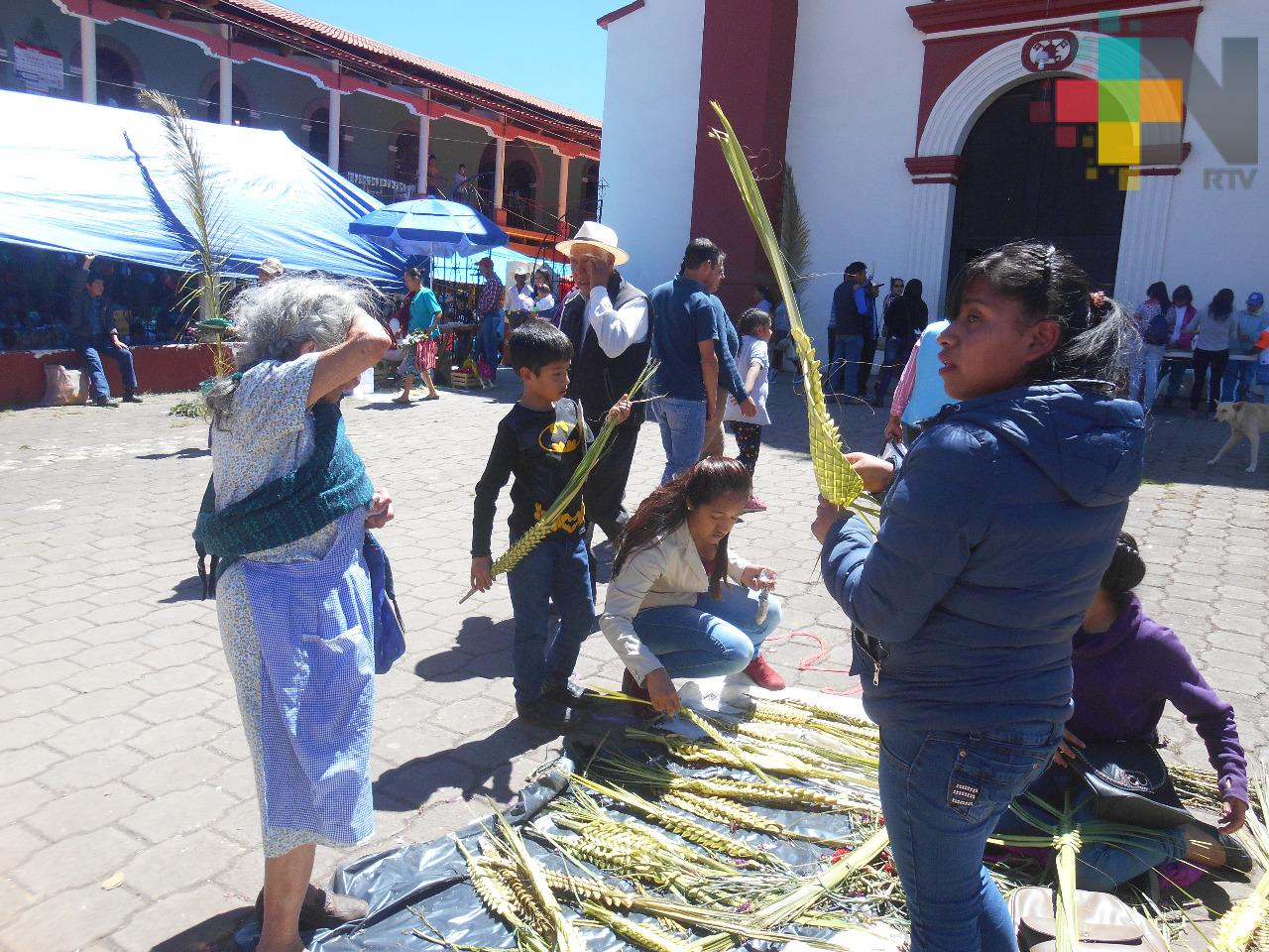 Con Domingo de Ramos iniciarán actividades de Semana Santa en la sierra de Huayacocotla