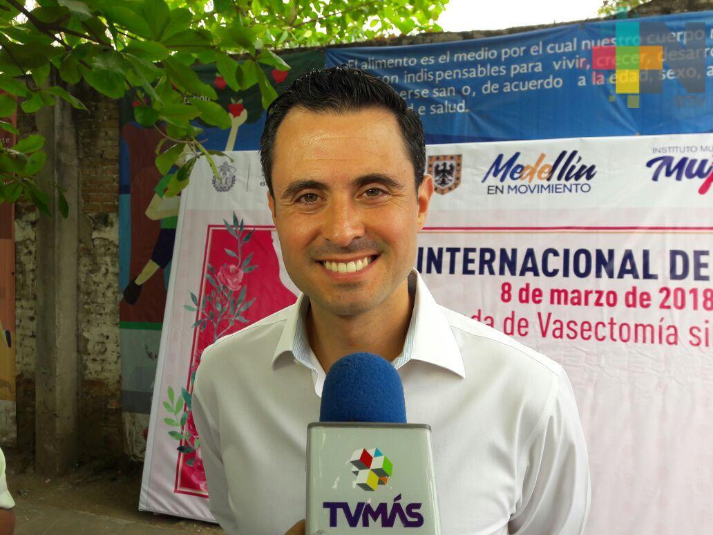 Alcalde de Medellín de Bravo es positivo a COVID-19