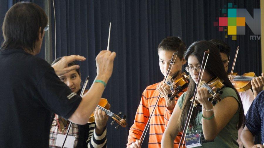 Abren convocatoria para integrar la selección 2018 de la Orquesta Sinfónica Infantil de México