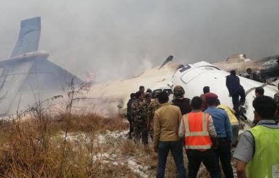 Sube a 49 cifra de muertos por accidente de avión en Nepal