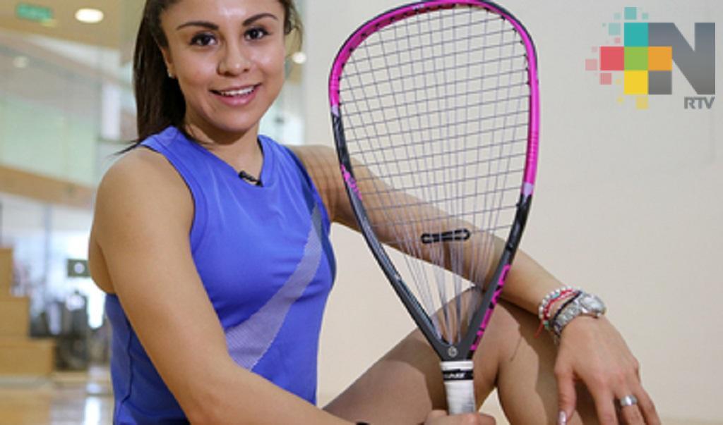Raquetbolistas mexicanas Longoria y Salas conquistan títulos de dobles