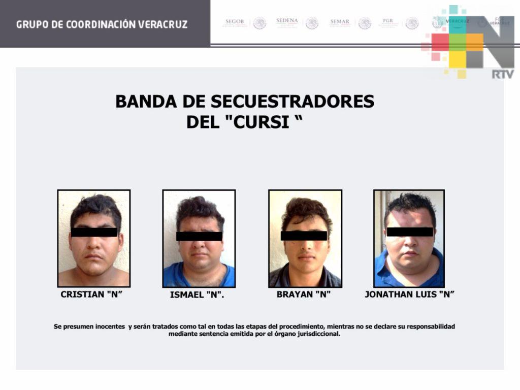 Rescata Grupo de Coordinación Veracruz a menor de edad secuestrada en Coatzacoalcos