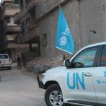 Primer convoy con ayuda humanitaria llega a Ghouta Oriental