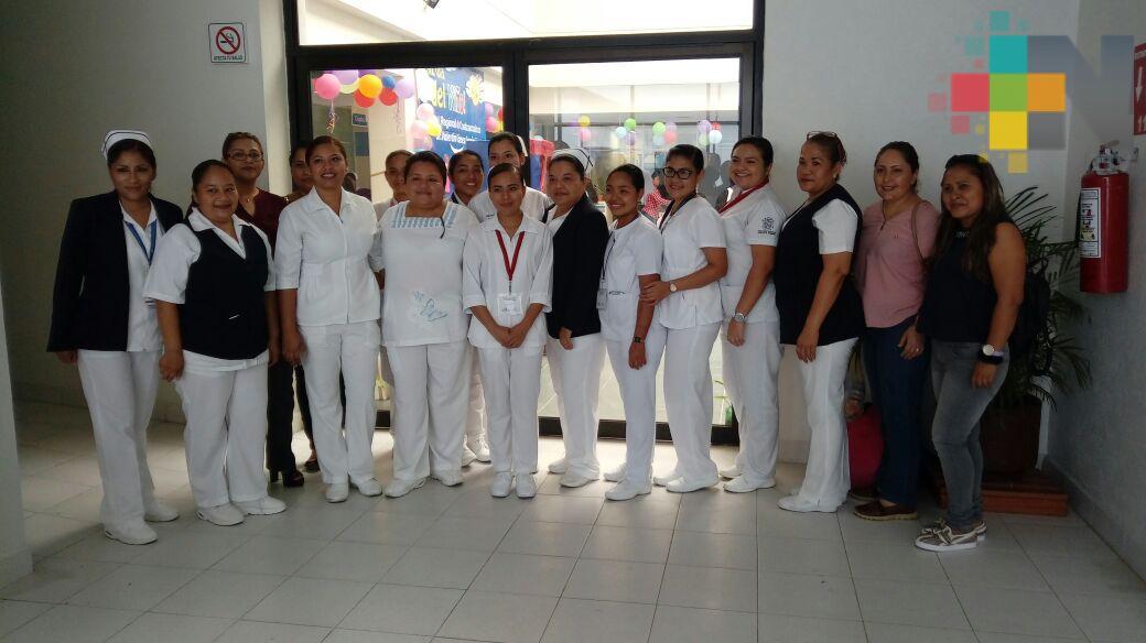 En Coatzacoalcos capacitan a enfermeras en atención a embarazadas