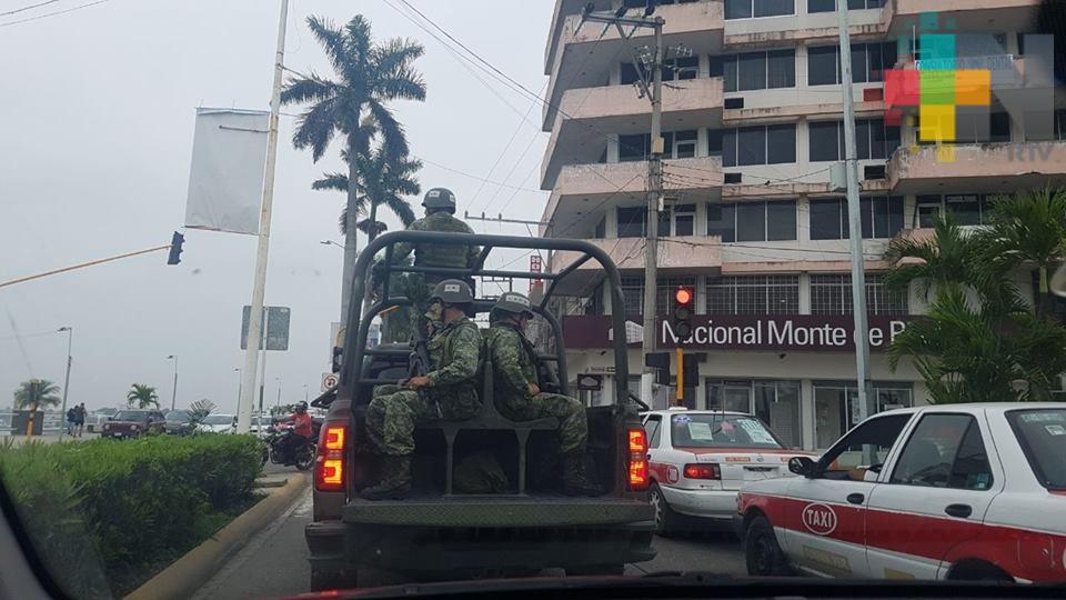 Ejército Mexicano continúa coadyuvando con autoridades estatales y municipales
