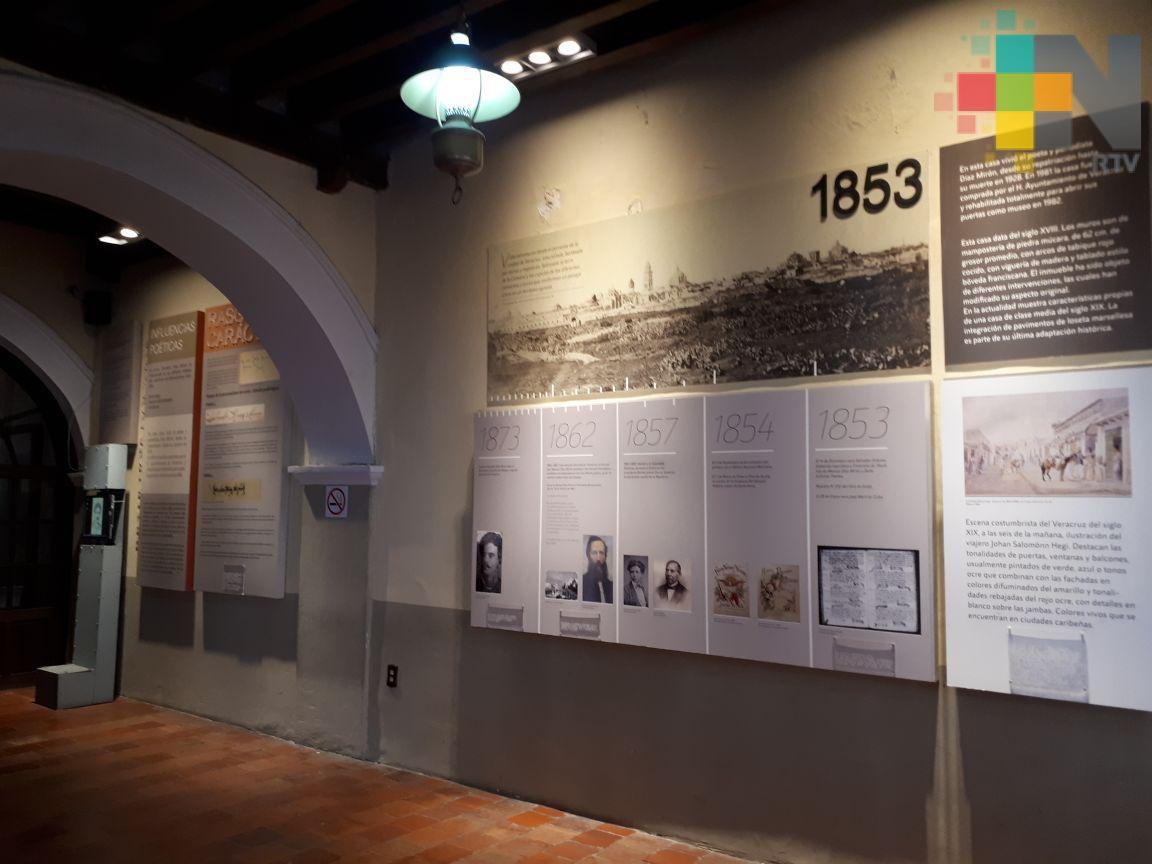 Museos y recintos culturales del municipio de Veracruz abrirán sus puertas el 4 de septiembre