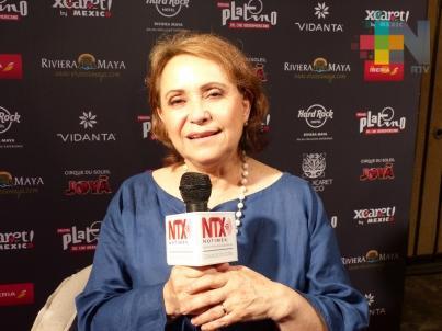 La cultura mexicana sigue traspasando fronteras: Adriana Barraza
