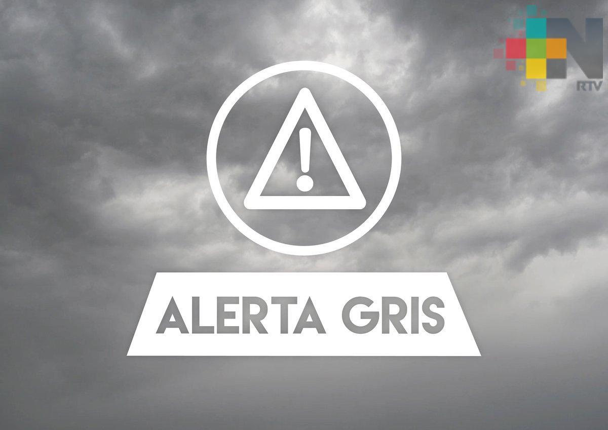 Se mantiene activa Alerta Gris por evento de norte asociado al frente frío 41