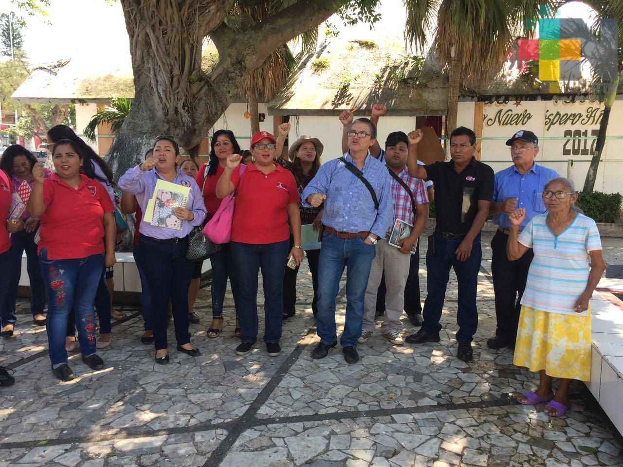 Más de 4 mil habitantes del poniente de Coatzacoalcos solicitan el servicio de drenaje