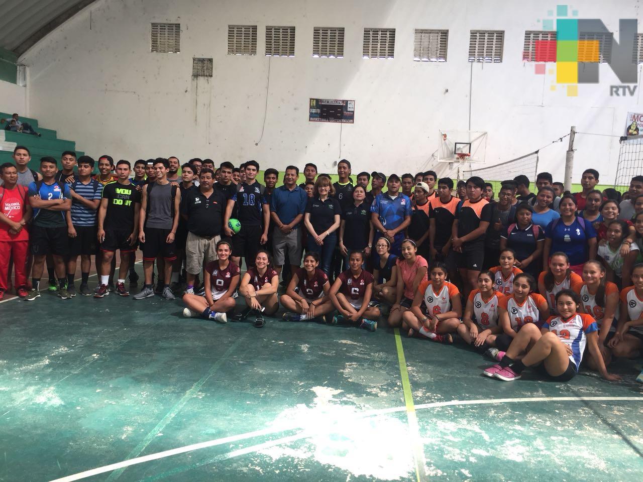 Celebran Segunda Copa de Voleibol Itesco, en Coatzacoalcos