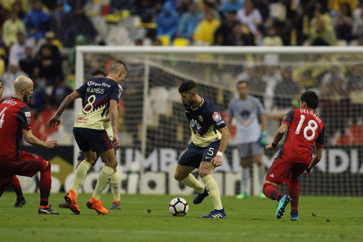América empata 1-1 con Toronto FC y se despide de la Concachampions