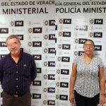Captura FGE a ex Director de Periciales y a ex Delegada de la Fiscalía, por desaparición forzada