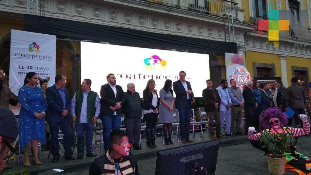 Del 11 al 20 de mayo realizarán la Expo Feria del Café y la Orquídea Coatepec 2018