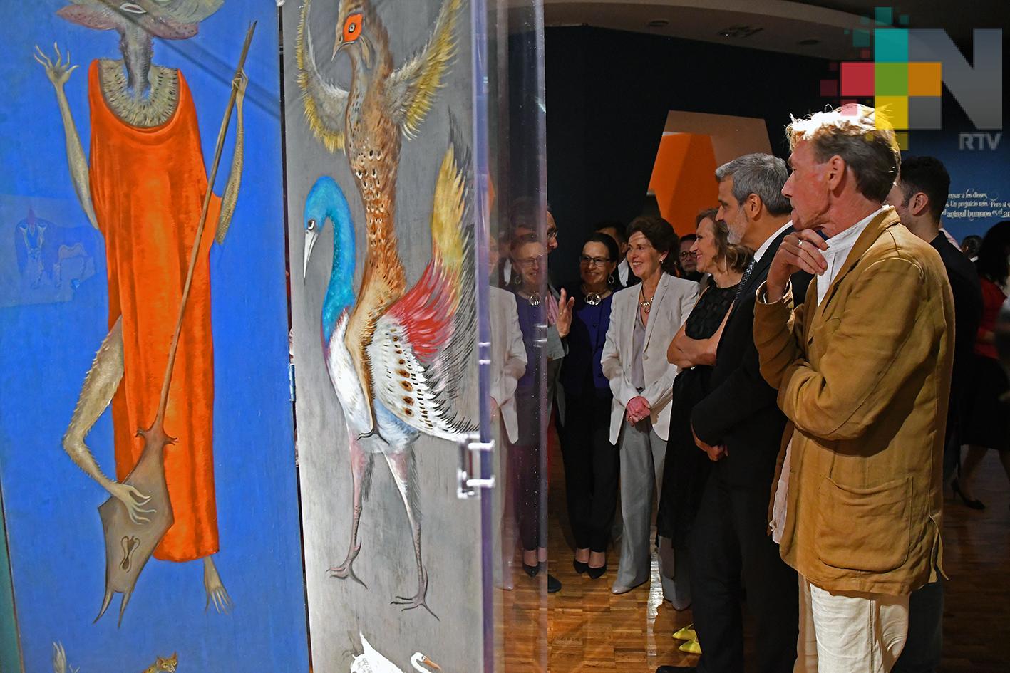 Celebran a Leonora Carrington en la apertura de su retrospectiva en el MAM