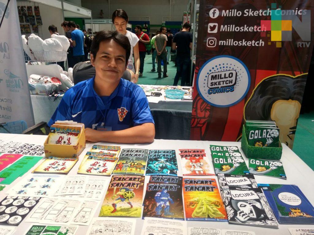 Creadores locales se abren paso en la industria del cómic