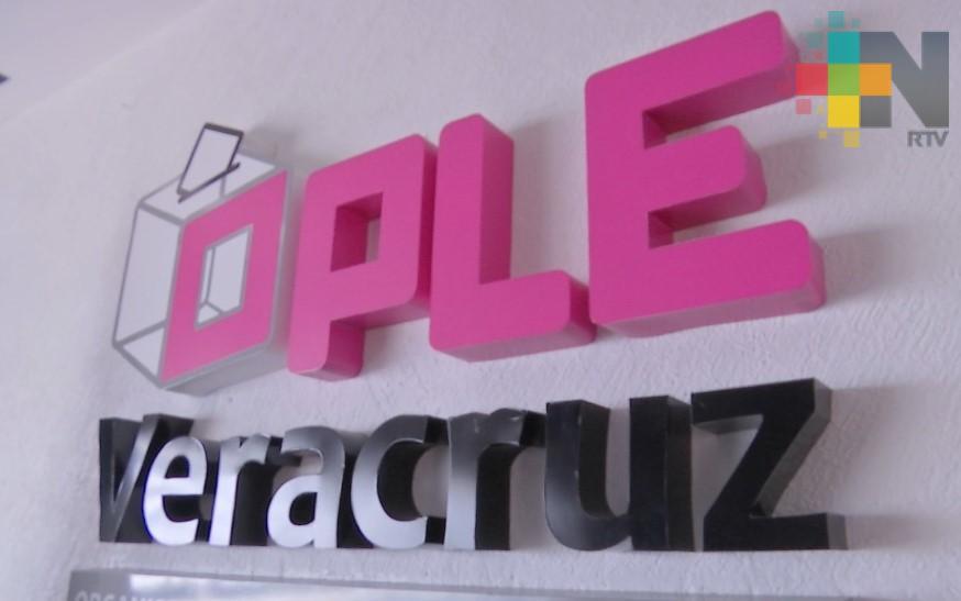 OPLE realizará dos debates entre los candidatos a la gubernatura de Veracruz