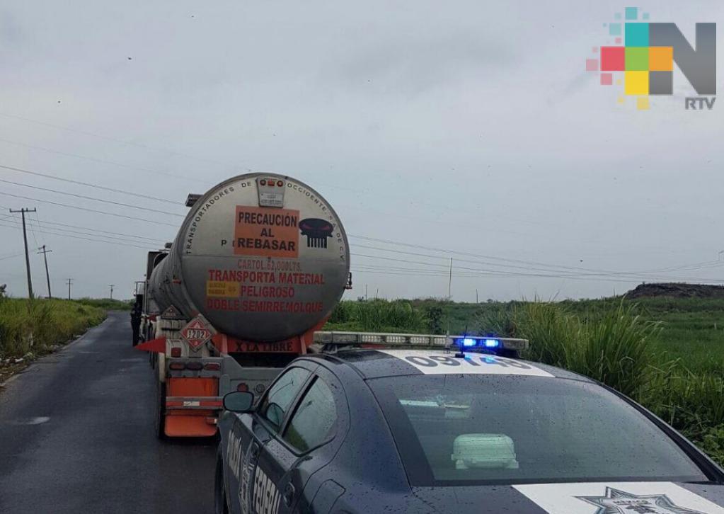 Reporta la PF resultados de operativos en las carreteras del sur de Veracruz
