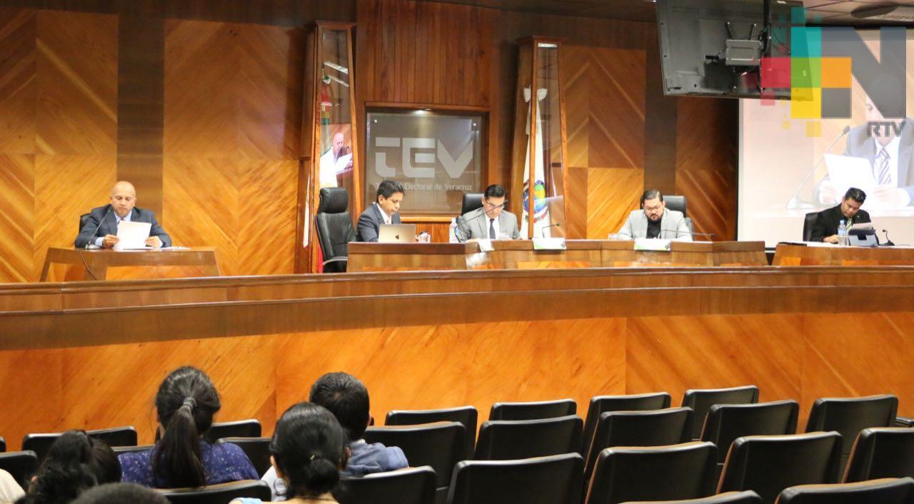 Reencauza TEV impugnación a candidaturas a diputaciones locales del PRI