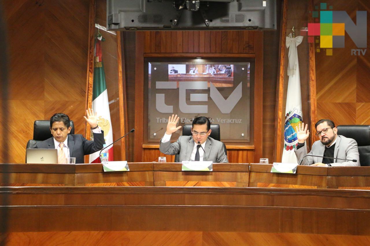 Desecha TEV procedimiento promovido por el PRI contra PAN en Minatitlán