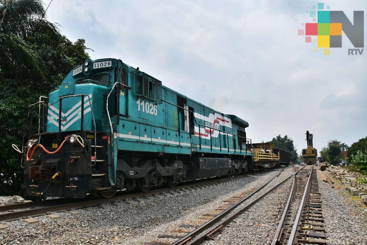 Piden que nuevas autoridades federales inviertan en la rehabilitación de tramos ferroviarios