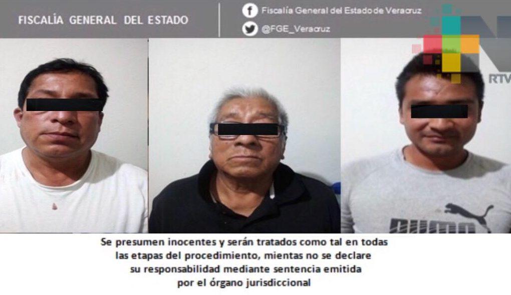 Desarticulan célula delictiva en Tuxpan, tres detenidos