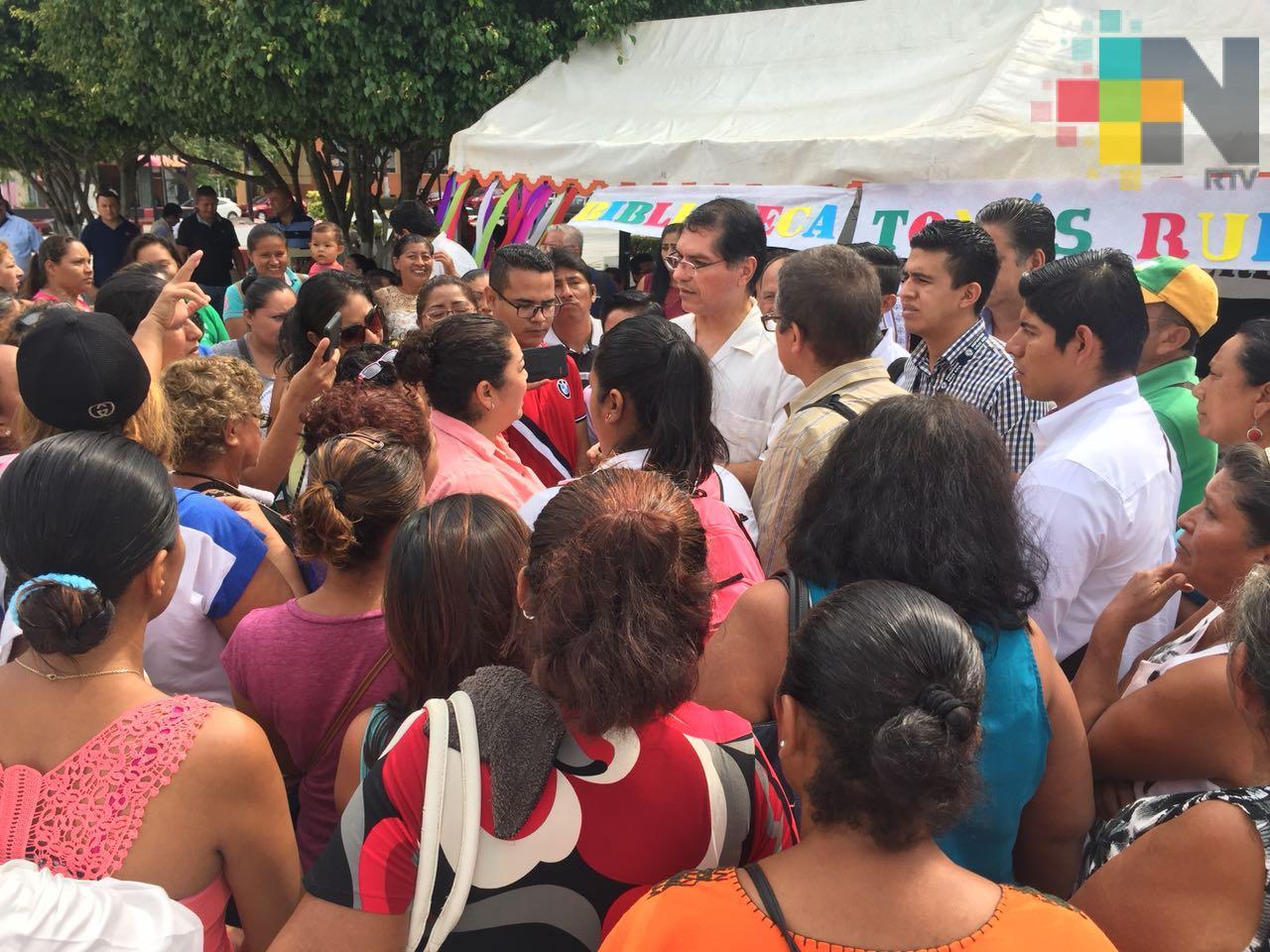Antorchistas exigen atención de autoridades de Coatzacoalcos
