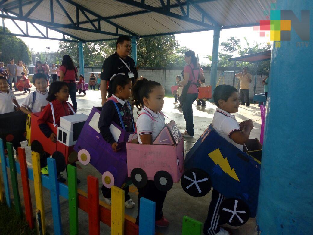 Llevan educación vial a escuelas, desde preescolar