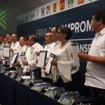 Firman representantes de los partidos políticos 10 compromisos por la transparencia en Veracruz