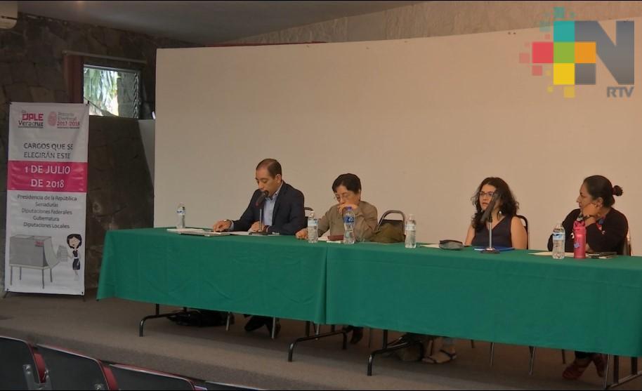 Celebran encuentro académico para informar sobre las elecciones de 2018
