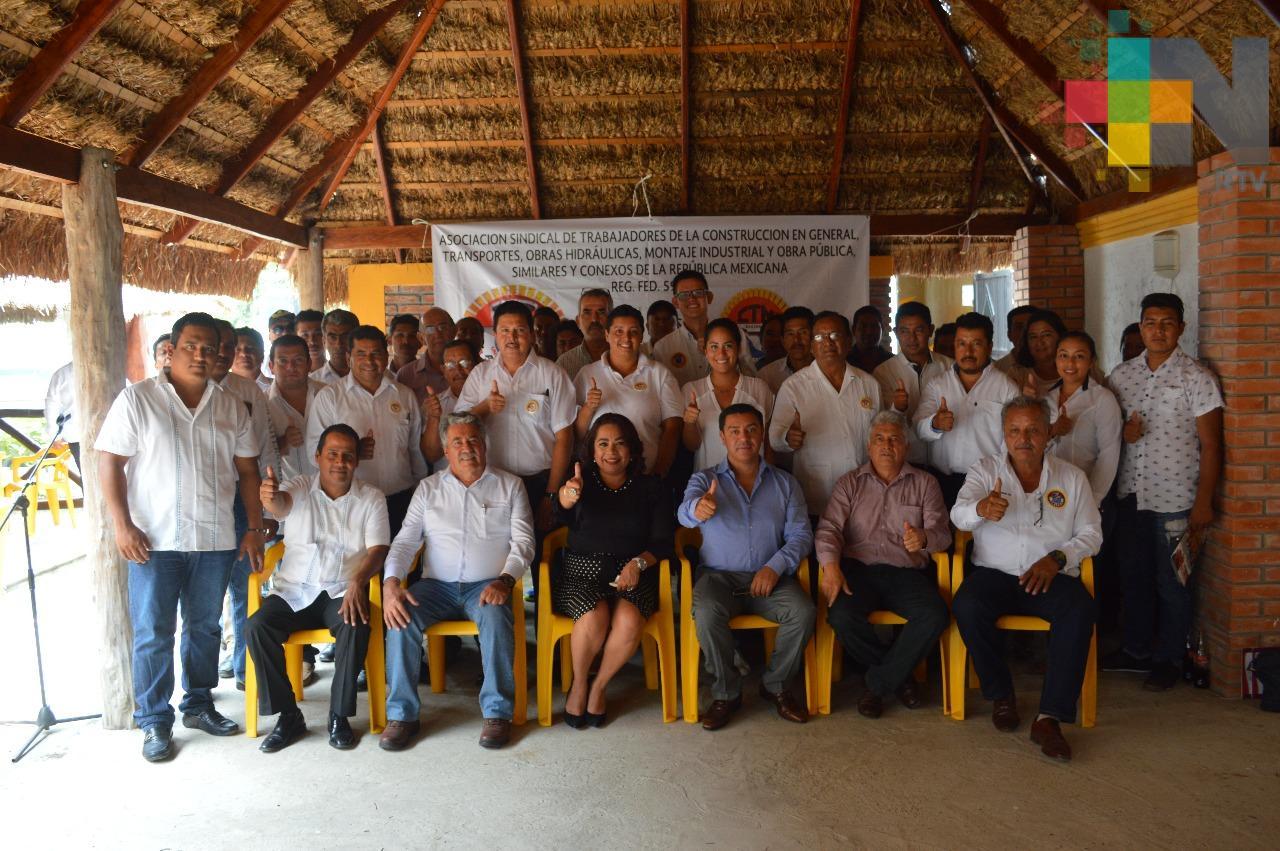 La Confederación de Trabajadores de México instala una sección en Tamiahua