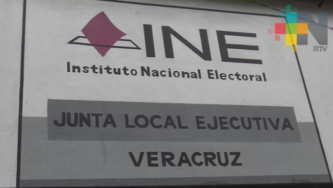 El 8 de mayo INE definirá a funcionarios de casilla en los 20 distritos electorales de Veracruz