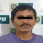 Obtiene FGE legalización de detención, imputación y prisión preventiva contra probable pederasta, en Tantoyuca