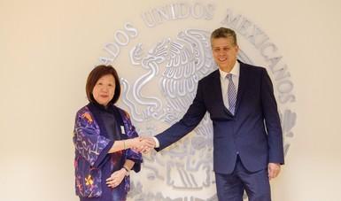 Desarrollan México y Singapur estrategia coordinada para ampliar comercio agroalimentario en Asia