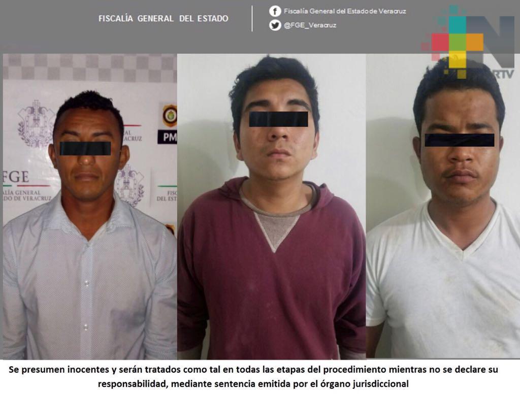 En Cosamaloapan y Veracruz esclarece FGE tres robos, dos de ellos a comercios